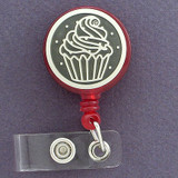 Tasteful Cupcakes ID Badge Holders