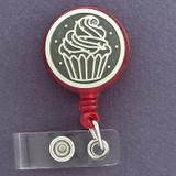 Tasteful Cupcakes ID Badge Holders