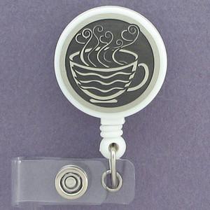 Coffee Cup ID Badge Holders