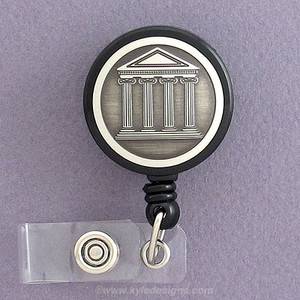 Banking and Securities ID Badge Holder Reel