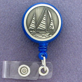 Sailing ID Card Retractable Badge Holder Reels