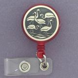 Flamingo ID Badge Holders