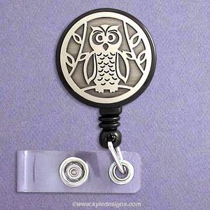 Smart Owl Retractable Name Badge Reels