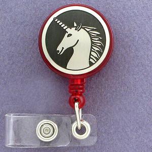 Magical Unicorn ID Badge Holders