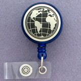 World Maps ID Badge Holders