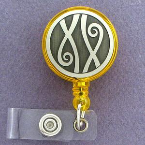 Long Locks ID Badge Holders