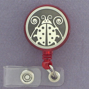 Adorable Ladybug ID Badge Holders
