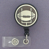 Football ID Badge Holder Reel