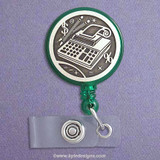 Accountant Retractable ID Badge Holder