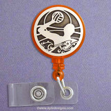 Water Polo Retractable ID Badge Holder