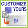 Customize a Checkbook Cover