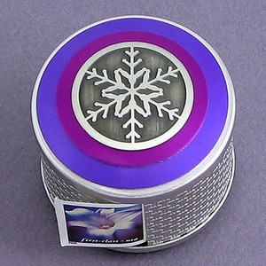 Snowflake Postage Stamp Dispensers