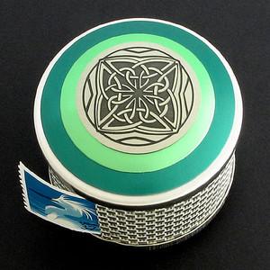 Celtic Postage Stamp Boxes