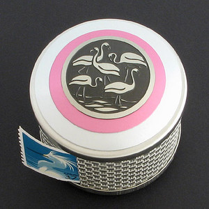 Flamingo Postage Stamp Dispenser