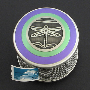 Dragonfly Postage Stamp Dispensers