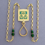 Shamrock Beaded Lanyard Necklaces or Glasses Holders