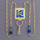 Harmony Chinese Character Necklace Badge or Glasses Chain