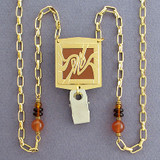 Art Nouveau Designer Lanyards or Eyeglasses Necklaces