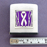 Purple Ribbon Measuring Tape