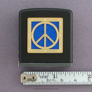 Peace Sign Measuring Tape