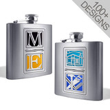 Create Your Own 8 Oz Specialized Flasks