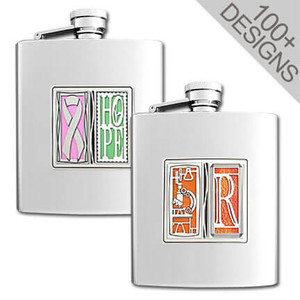 Create Your Own Tall Design Flask in Any 2 of 100s of Images
