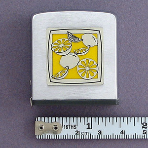 Lemon Metal Tape Measure