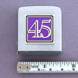 Number 45 Symbol Tape Measure