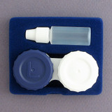 Contact Lens Case Insert - Bottle & Lens Holder