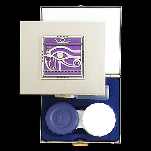 Egyptian Eye of Horus Contacts Case