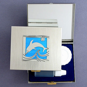 Dolphin Contact Lens Travel Cases
