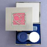 Heart Contact Lens Traveling Case