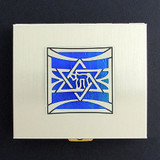 Jewish Star Contact Lense Cases