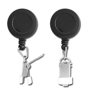 Retractable Proximity Card Clamp Badge Holders