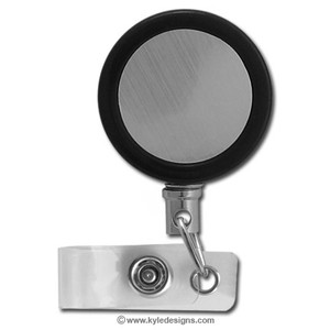 Retractable ID Badge Holder Reels with Steel Cord