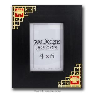 4x6 Arts & Crafts Frame - Choose Design & Color