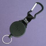 "Key-Bak Security Gear Reel with 48"" Self Retracting Kevlar Cord"