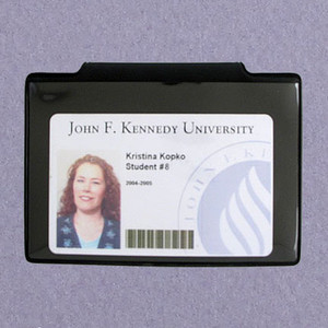 Magnetic Horizontal Government Card ID Name Badges