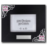Unique 4x6 Breezy Picture Frames - Choose a Design