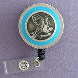 Blue Fairy Badge Reel