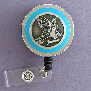 Blue Fairy Badge Reel