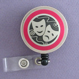 Theater Mask Badge Reel
