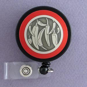 Red Hot Chili Pepper Badge Holder