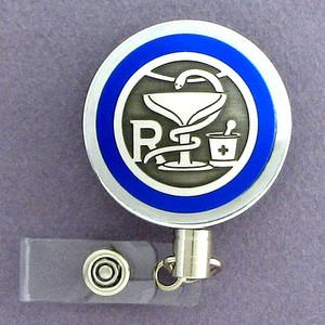 Pharmacy Name Badge Holder Reel