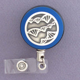 DNA Strand Badge Reel for Scientist