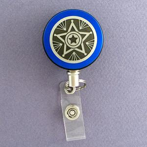 Blue Star Badge Reel