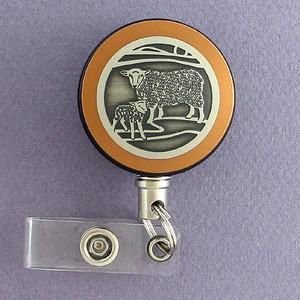 Unique Lamb Badge Reel