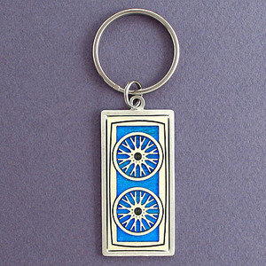 Cyclist Key Chains