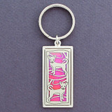 Chihuahua Dog Key Rings