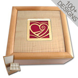 Decorative Wood Jewelry Chest